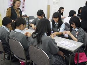 戸板女子短期大学「Marsalaのピンクッションメジャー製作」