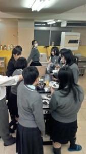 進学コース チョコバナナ試食会_320