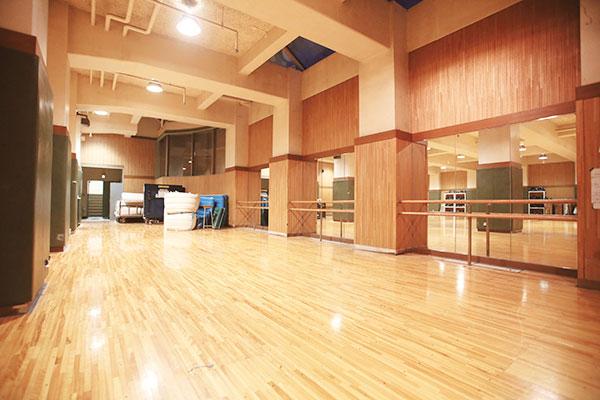 ダンス練習場