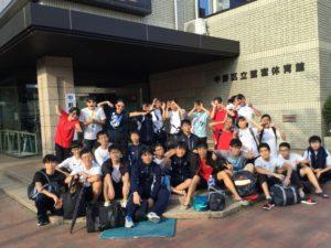 中野区水泳大会